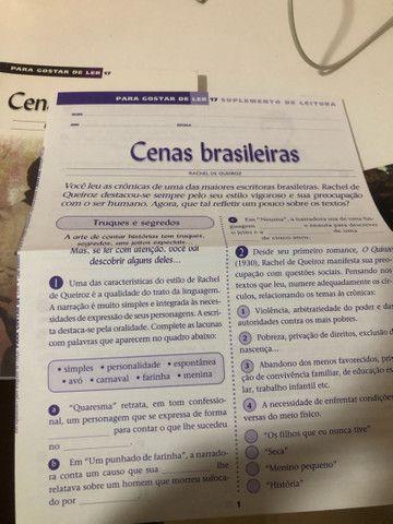 Livro paradidático Cenas brasileiras  - Foto 3