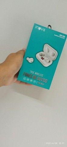 Fone de ouvido sem fio bluetooth  teus wireless  - Foto 2