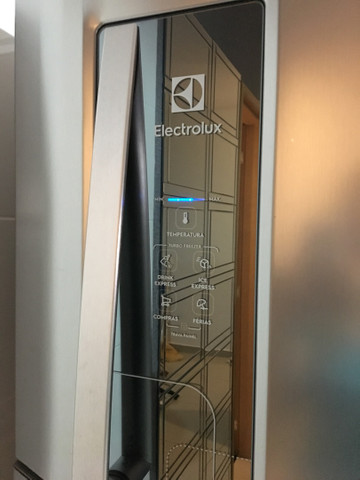 Geladeira Eletrolux INOX  Duplex - Foto 3