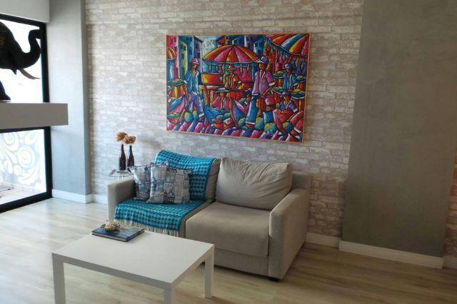 Excelente apartamento 2/4 mobiliado e decorado na Pituba