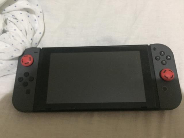 Nintendo switch cinza +jogos