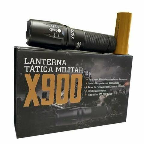 Lanterna Tática Militar X900 super potentes