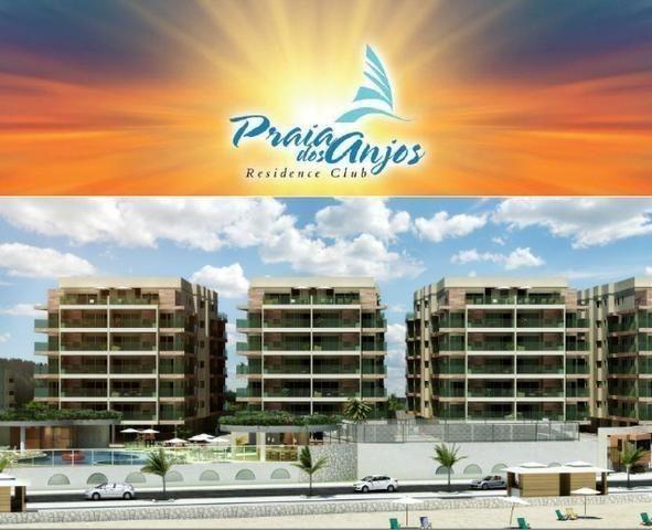 Frente ao mar espetacular 02 e 03 quartos com 03 suites e Coberturas Praia dos Anjos