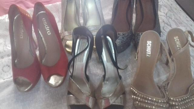 5d3c546dc Sapatos de Grife ! Todos por 130,00 - Roupas e calçados - Cosme de ...