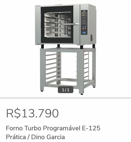 Forno Turbo programável E-125 - Dino Garcia 47- *