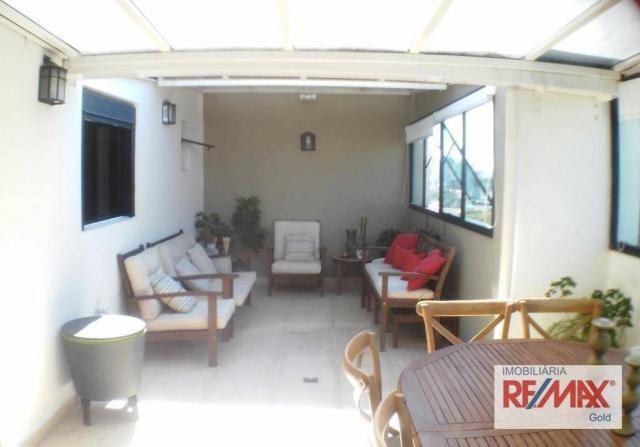 Cobertura 3 dormitórios,2 suítes,churrasqueira,home theater ,rua passo da patria - Foto 2