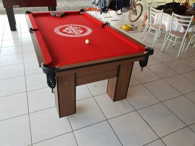Mesa de Bilhar Cor Imbuia Personalizada Modelo CIT0453 - Foto 3