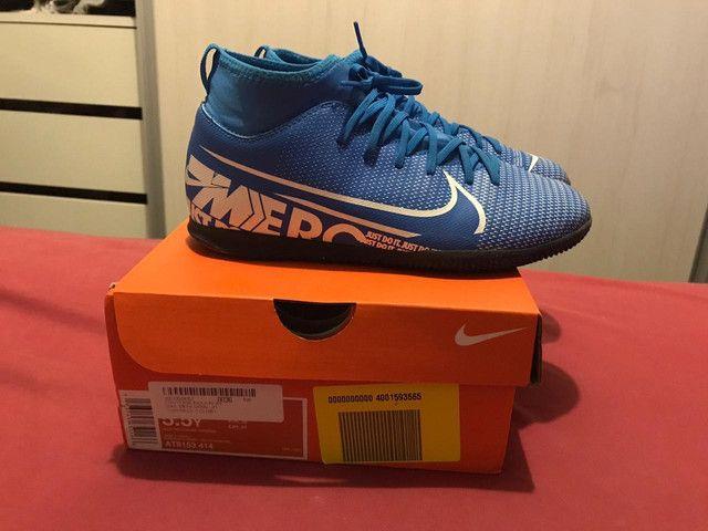 Tênis Nike futsal 36 - Foto 3