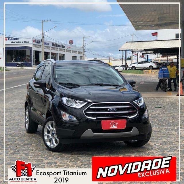 Ecosport Titanium 2.0 | O Mais Novo do Mercado | F1 Auto Center - Caicó-RN - Foto 2