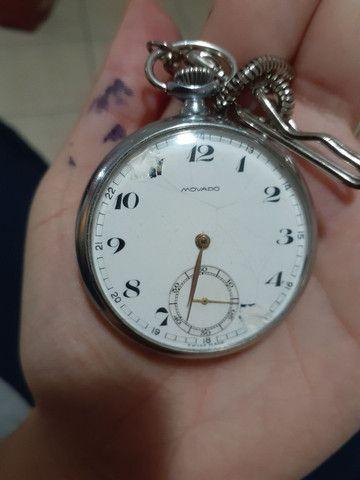 Relógio de bolso Movado