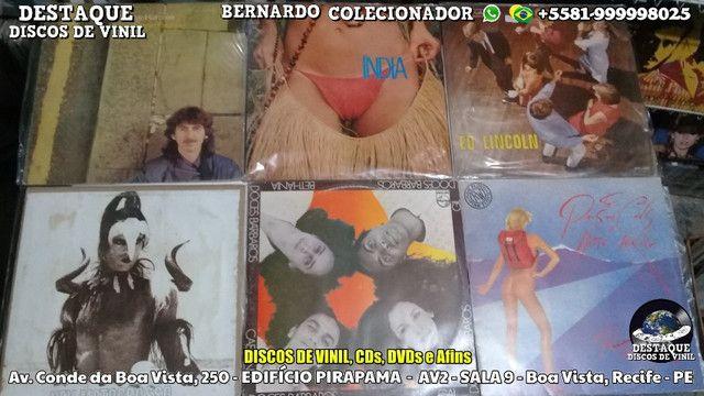 Discos de Vinil, Com Gêneros Variados, Nacional e Internacional - Foto 2