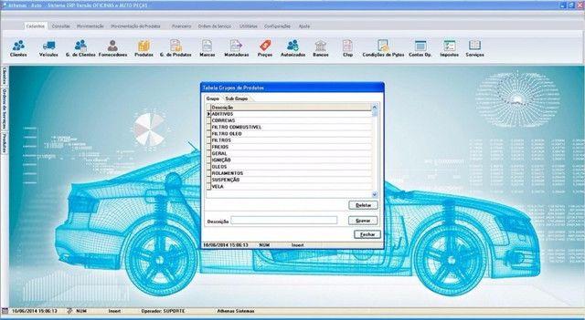 Oferta Imperdivel sistema_oficina_mecanica sem mensalidade p/ computador em geral - Foto 3