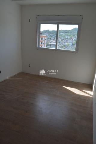 Apartamento 03 dormitórios para venda em Santa Maria com Suíte Sacada Churrasqueira Garage - Foto 8