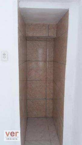 Apartamento com 1 dormitório para alugar, 50 m² por R$ 450,00/mês - Benfica - Fortaleza/CE - Foto 3