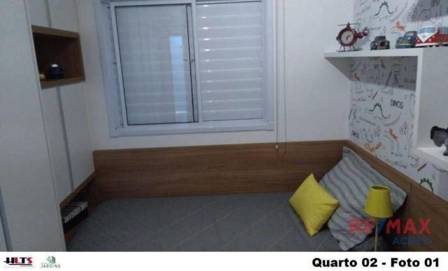 Apartamento com 2 dormitórios à venda, 45 m² por R$ 122.590,00 - Shopping Park - Uberlândi - Foto 11