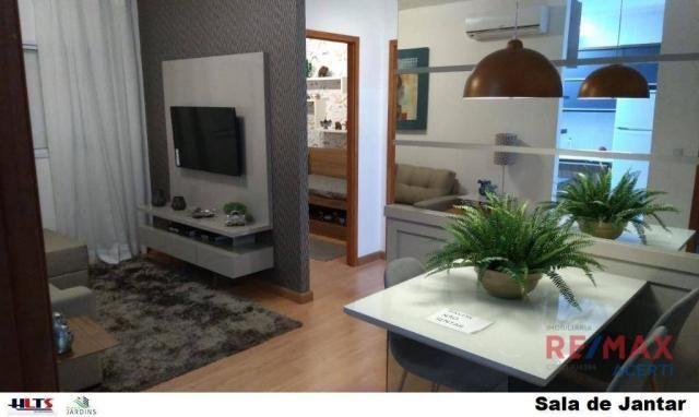 Apartamento com 2 dormitórios à venda, 45 m² por R$ 122.590,00 - Shopping Park - Uberlândi - Foto 8