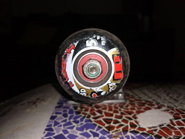 Skate profissional usado (conservado) - Foto 4