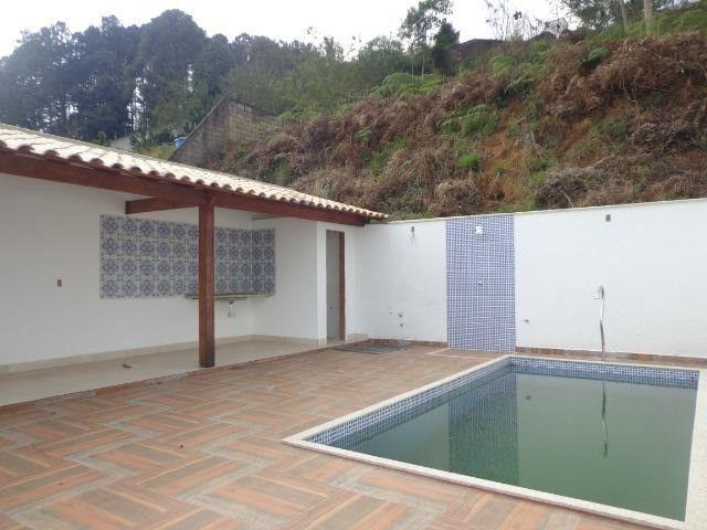 Parque Jardim da Serra - Belíssima Casa Nova de 3 quartos Suíte Quintal Piscina Gars - Foto 2