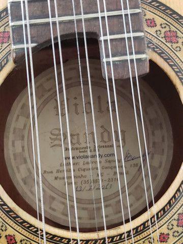 Viola de luthier Laércio Sandy - Foto 5