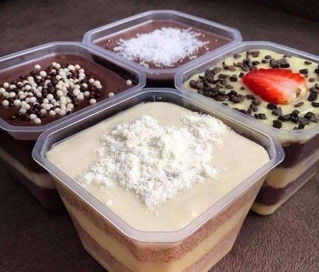 Sobremesas ( Bolo no pote e Churros no Copo ) - Foto 2
