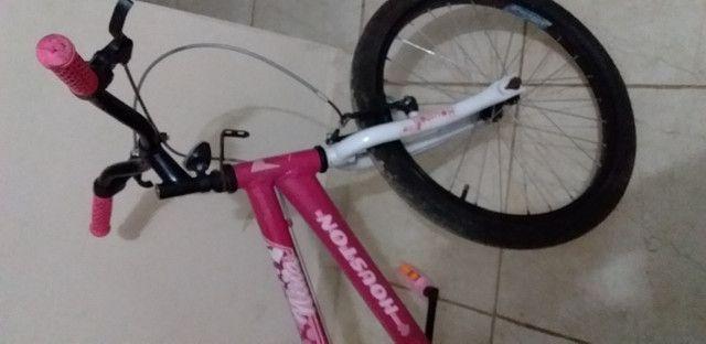 Vende-se bicicleta Houston menina - Foto 2