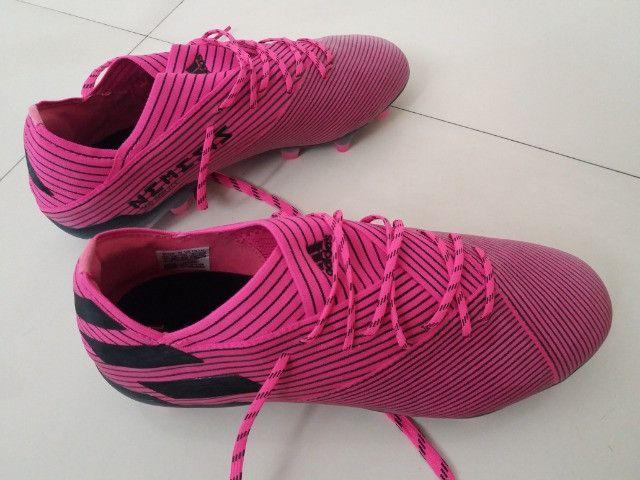 Chuteira Adidas Nemezis Profissional 19.1 Nova Sem Uso - Foto 6