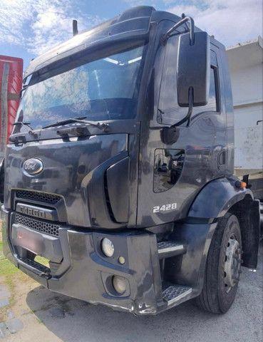 Caminhão ford cargo 2428 120mil - Foto 2