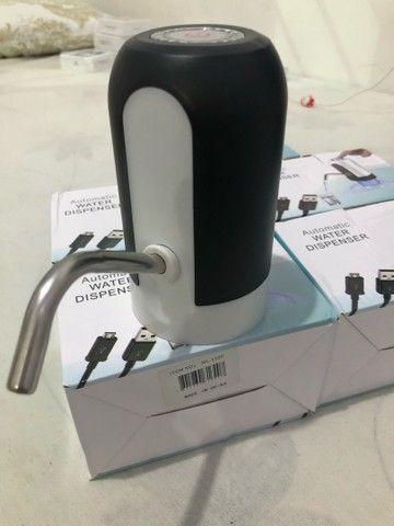 Bomba elétrica de galão universal USB - Foto 3