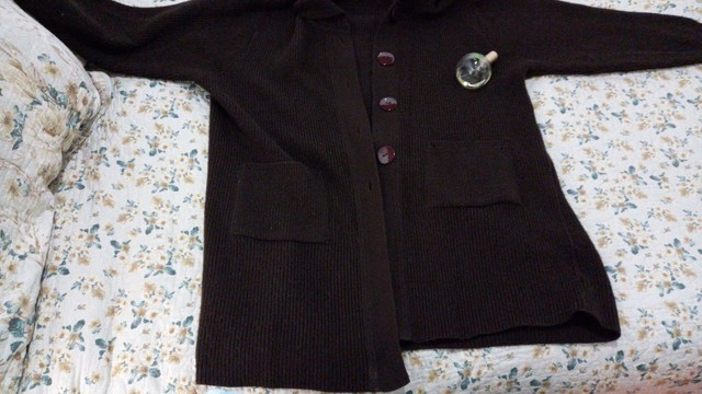 Casaco de lã Plus Size - Foto 2