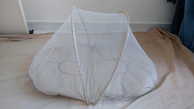 Berço Portátil com mosquiteiro - Foto 3
