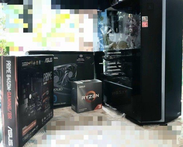 PC gamer Ryzen 3 3300x Placa de Video GTX 960 4GB