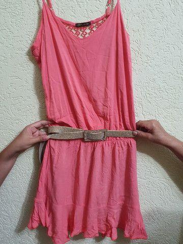 Vestido todo aberto nas costas  tamanho M - Foto 4