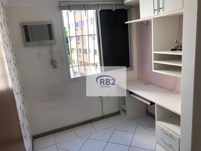 More em ótimo apartamento mobiliado de 2 quartos com excelente localização - Foto 11