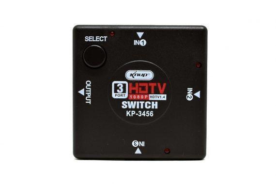 SWITCH ADAPTADOR HDMI KP-3456