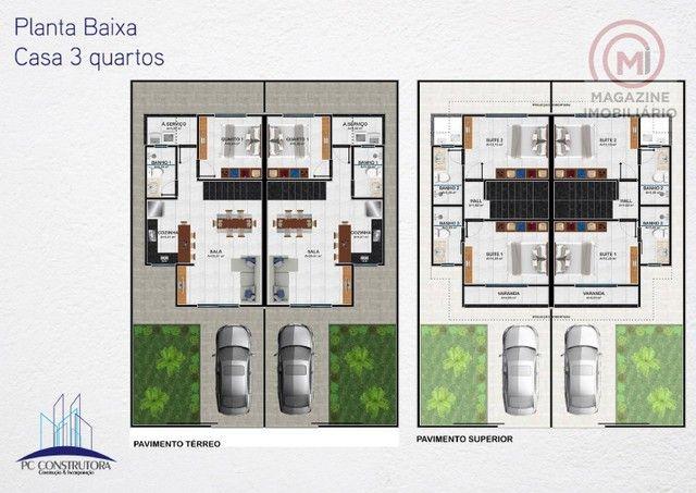 Casa com 3 dormitórios à venda, 100 m² por R$ 350.000,00 - Fontana I - Porto Seguro/BA - Foto 7