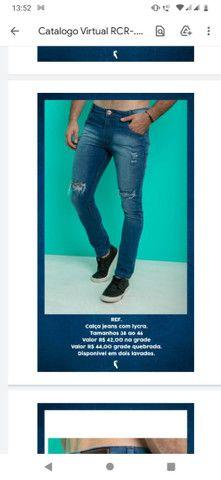 Calça jeans Masculina skine - Foto 2