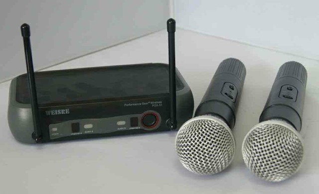 Microfone Kit completo sem taxa de entrega