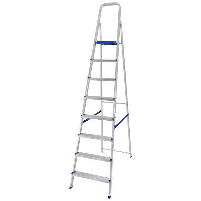 Escada Aluminio 8 Degraus MOR - 005106 - Foto 2