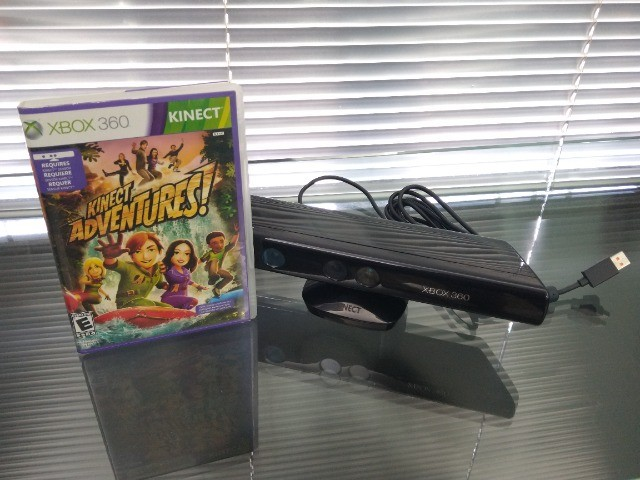 Sensor Kinect Modelo 1473 Para Xbox 360 Da Microsoft + Jogo - Foto 5