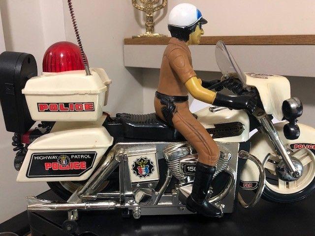 brinquedo motocicleta Patrulheiro Chips - Foto 5