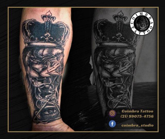 Troco tattoo por celular ou tablet  - Foto 6