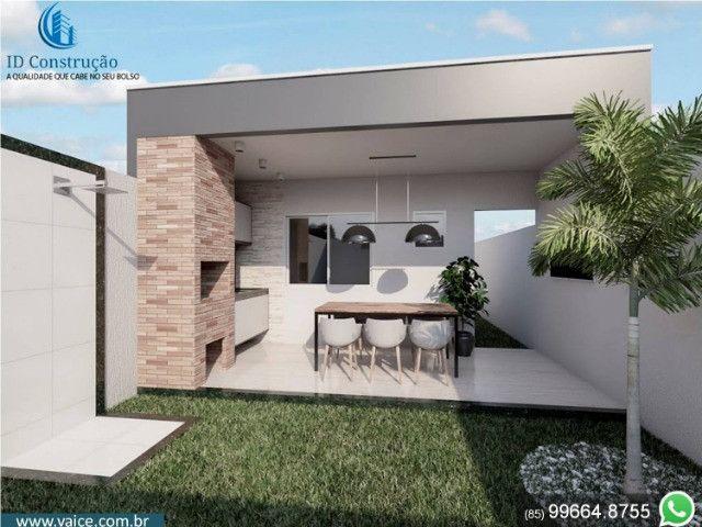 Casa de 3 Quartos | Varanda Gourmet | Terreno com 34m de comprimento - Foto 4