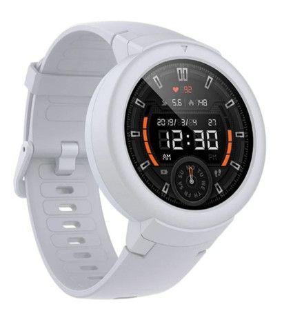Amazfit VERGE LITE- Branco- Novo- com GPS