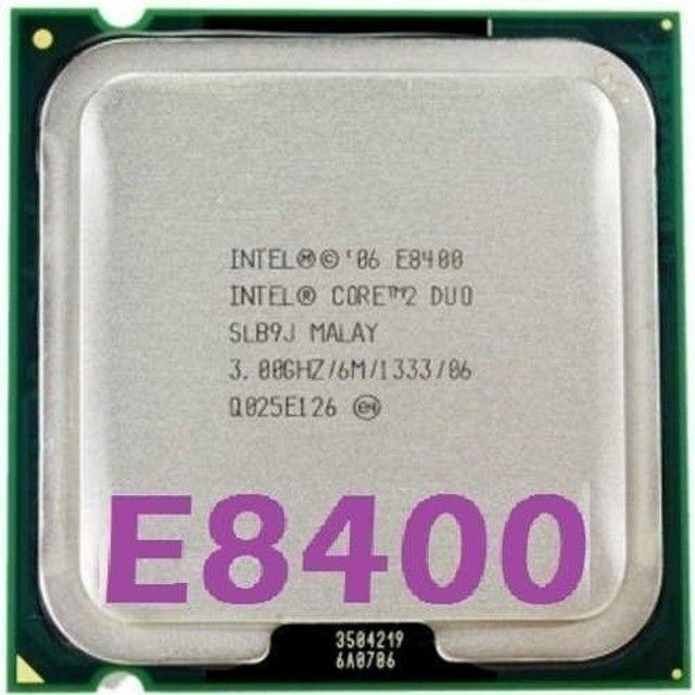 Processador Intel Core 2 Duo E8400 3.0ghz Fsb 1333 Lga 775 - 400