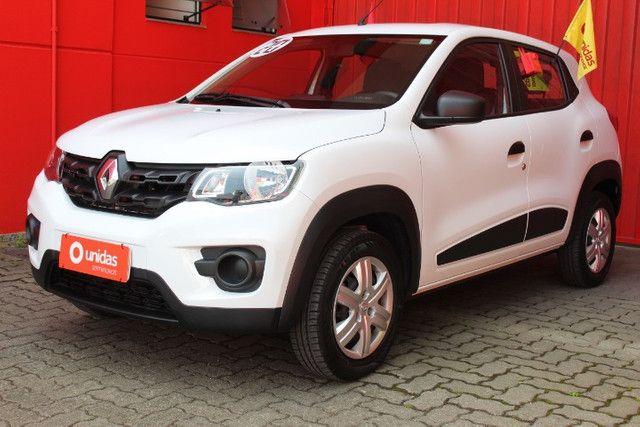 Renault Kwid Zen 1.0 4P ano 2020 Único dono!!! - Foto 2