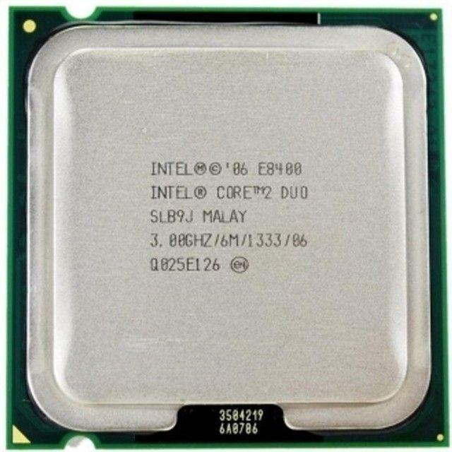 Processador Intel Core 2 Duo E8400 3.0ghz Fsb 1333 Lga 775 - 400 - Foto 3