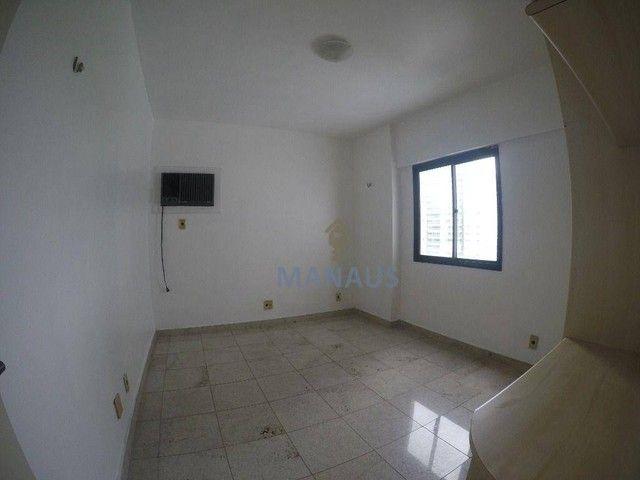 Apartamento com 4 dormitórios para alugar, 186 m² por R$ 3.900/mês - Adrianópolis - Manaus - Foto 7