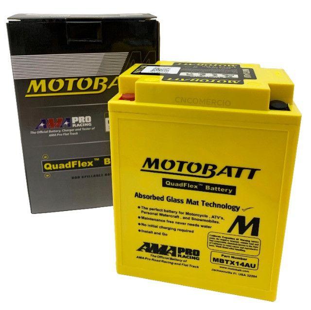 Bateria Motobatt Mbtx14au Honda Cb 750k Four 69-82 Cbx750 Cbf1000 Triumph 900 Yb14a2 - Foto 5