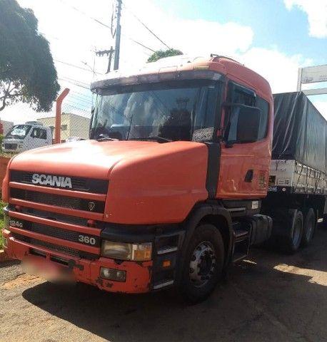 CONJUNTO SCANIA 124 360CV 1999 GRANELEIRO RANDON 2009