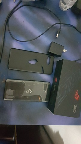 Rog phone 2 display  queimado